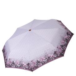 Автоматический зонт с куполом из эпонжа, ультра легкая конструкция от Fabretti, арт. L-17106-5