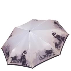 Стильный женский зонт автомат с красивым и необычным узором от Fabretti, арт. L-17120-7