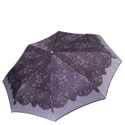 Стильный женский зонт автомат с красивым узором на куполе от Fabretti, арт. L-17121-11