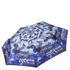 Женский автоматический зонт с красивым и стильным рисунком на куполе от Fabretti, арт. P-17103-8
