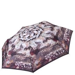Женский легкий зонт автомат с красивым и стильным рисунком на куполе от Fabretti, арт. P-17104-6