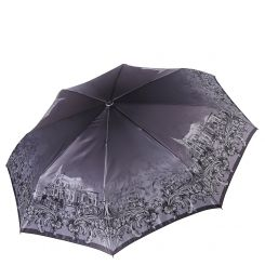 Женский зонт автомат с красивым градиентным узором от Fabretti, арт. S-17104-7