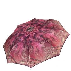 Стильный женский зонт автомат с красивым и ярким принтом от Fabretti, арт. S-17105-3