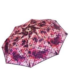 Стильный женский зонт автомат с красивым и ярким принтом от Fabretti, арт. S-17105-5