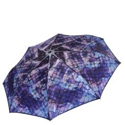Женский зонт с облегченной конструкцией и красивым принтом от Fabretti, арт. S-17110-10