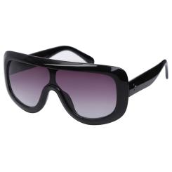 Круглые женские солнцезащитные очки с необычным градиентным стеклом от Fabretti, арт. F39183520-1G