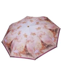 Легкий женский зонт автомат с нежным принтом от Fabretti, арт. L-19113-6