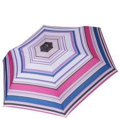 Механический женский зонт с геометрическим принтом, розового цвета от Fabretti, арт. MX-19100-5