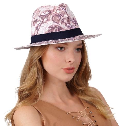 Летняя шляпа Fabretti V11 MULTICOLOR