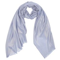 Голубой женский шарф из 100% вискозы от Fabretti, арт. WJ286-3