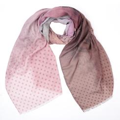Элегантный женский шарф с красивым принтом, из 100% вискозы от Fabretti, арт. CX1819-05-1