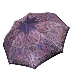 Стильный женский зонт-трость насыщенного фиолетового оттенка от Fabretti, арт. 1702