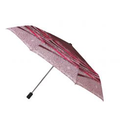 Яркий и стильный женский зонт автомат из эпонжа от Fabretti, арт. L-16102-9