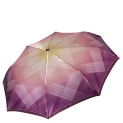 Изящный и практичный женский зонт с ярким куполом из сатина от Fabretti, арт. L-16113-1