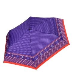 Изысканная модель женского зонта с насыщенным фиолетовым рисунком. от Fabretti, арт. MX-17100-2