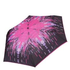 Компактный и стильный женский зонт из эпонжа от Fabretti, арт. MX-17100-4