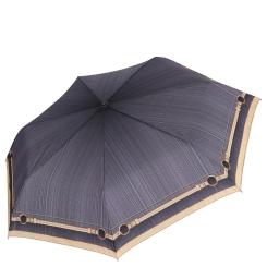 Красивый и компактный зонт из эпонжа с уникальным принтом от Fabretti, арт. P-16102-2