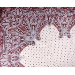 Элегантный женский платок с красивым принтом, из льна и модала от Fabretti, арт. 73-4