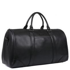 Мужская дорожная сумка из натуральной кожи, модель с классическим дизайном от Fabretti, арт. CSN3536-black