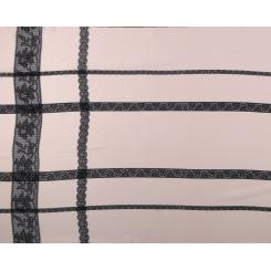 Нежный женский шарф розового цвета, выполнен из натурального шелка от Fabretti, арт. CX1629-B