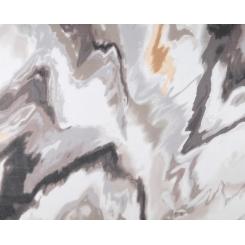 Легкий женский шарф с мраморным принтом, из 100% шелка от Fabretti, арт. HSS061-1