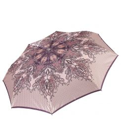 Женский зонт, облегченная модель с красивым рисунком от Fabretti, арт. L-17100-4