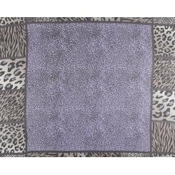 Женский платок с леопардовым принтом, из 100% шелка от Fabretti, арт. MSK7096-B