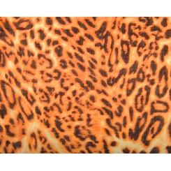 Шерстяной женский палантин с пятнистой леопардовой расцветкой от Fabretti, арт. YQ12001-A