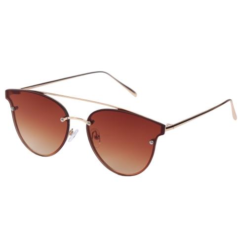 Солнцезащитные очки ретро-стиля  60-х годов утонченного дизайна от Fabretti, арт. E289420-1G
