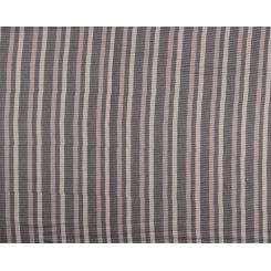 Легкий мужской палантин в полоску в серых тонах из вискозы от Fabretti, арт. F1198-1