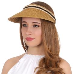Шляпа-козырек Fabretti G46-1 beige