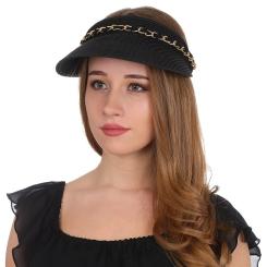 Шляпа-козырек Fabretti G49-2 black