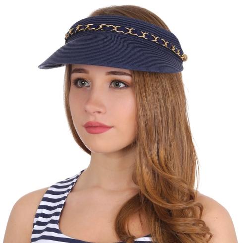 Шляпа-козырек Fabretti G49-5 blue