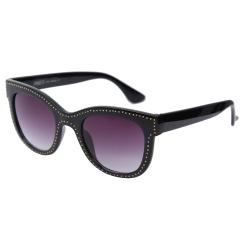 Классические женские солнцезащитные очки, модель с необычными дужками от Fabretti, арт. K48173-G