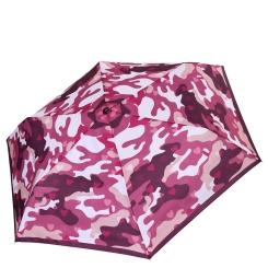 Женский зонт автомат в розовой цветовой гамме с красивым притом от Fabretti, арт. MX-18100-3