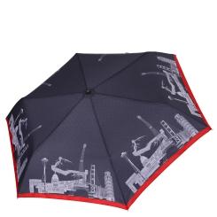 Женский зонт с принтом из мировых архитектурных достопримечательностей от Fabretti, арт. MX-18100-4