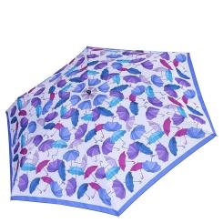 Женский зонт аккуратного дизайна из разноцветных зонтиков от Fabretti, арт. MX-18101-5