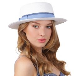 Летняя шляпа Fabretti G69-4 white