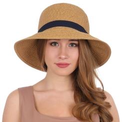 Летняя шляпа Fabretti GL66-1 beige