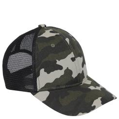 Удобная женская кепка в стиле милитари с сетчатым участком от Fabretti, арт. GL80-11 militari