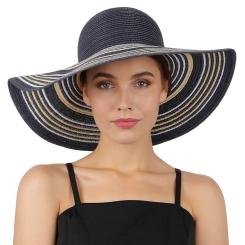 Летняя шляпа Fabretti K9-5/17 blue/gold