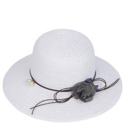 Летняя шляпа Fabretti P9-4 white