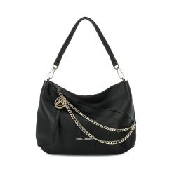 Стильная и практичная женская сумка мешок из мягкой натуральной кожи от Fiato Dream, арт. 1005