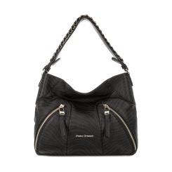 Женская вместительная сумка мешок из мягкой натуральной кожи с узором от Fiato Dream, арт. 1013-d151884