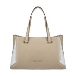Женская сумка из натуральной кожи, выполненная в бежевом цвете от Fiato Dream, арт. 1019-d171346