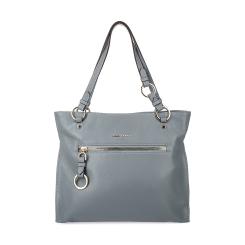 Серая женская сумка из мягкой натуральной кожи с естественной фактурой от Fiato Dream, арт. 1024
