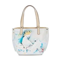Женская сумка из плотной натуральной кожи с легким рисунком от Fiato Dream, арт. 1030