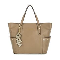 Женская кожаная сумка с подвесками, выполненная в коричневом цвете от Fiato Dream, арт. 1130-d172386