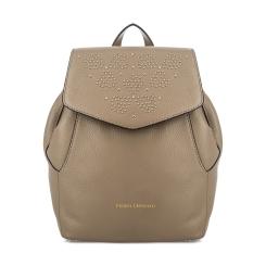 Городской женский рюкзак из натуральной кожи бежевого цвета от Fiato Dream, арт. 1136-d172402