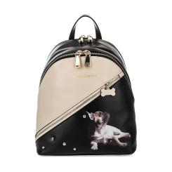 Оригинальный женский рюкзак из натуральной кожи с красивым рисунком от Fiato Dream, арт. 1139